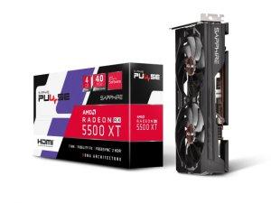 PULSE RADEON RX 5500 XT 4G GDDR6 HDMI / TRIPLE DP OC W/ BP (UEFI)