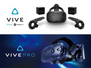 VIVE CE and PRO HMD セット