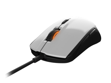 SteelSeries Rival 100 white 01 ゲーム ゲームデバイス マウス