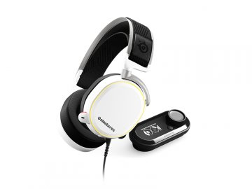 SteelSeries Arctis Pro + Game DAC White 01 ゲーム ゲームデバイス ヘッドセット
