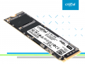 Crucial初のNVMe、3D QLC NAND採用PCIe接続M.2 SSD「P1 SSD」シリーズ登場