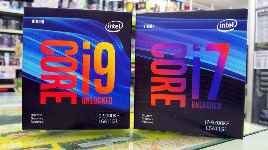e679484402 インテルのデスクトップ向け第9世代COREプロセッサーファミリー「Coffee Lake  Refresh」のグラフィック機能を外した「iGPU無し」3モデルがアキバに登場、2019年3月29 ...