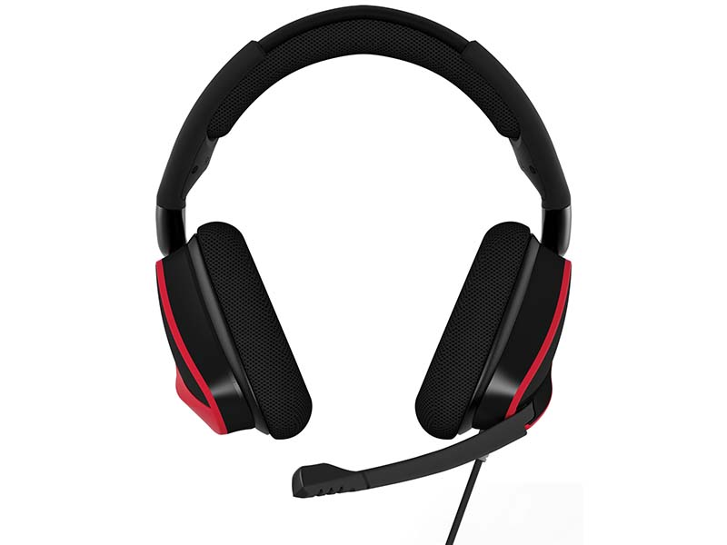 CA-9011157-AP VOID PRO Surround Red 02 ゲーム ゲームデバイス ヘッドセット