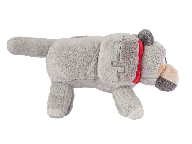 "Minecraft 15 Wolf Plush With Hang Tag"" 02 ゲーム その他・趣味 ゲーム関連グッズ ACCESSORIES"