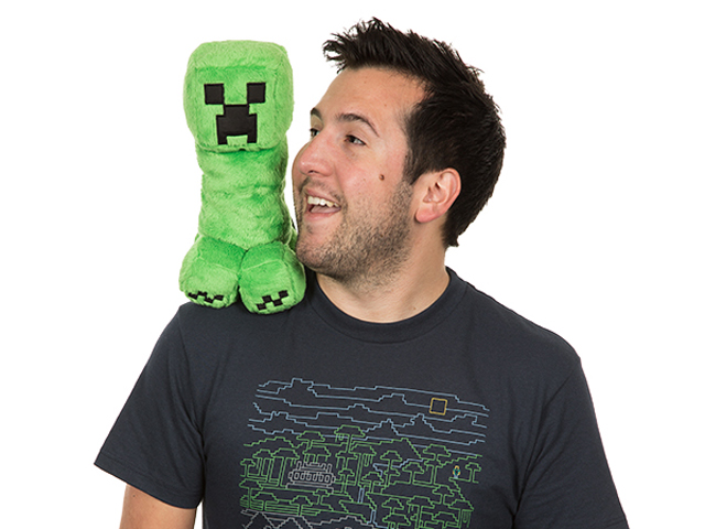 "Minecraft 10.5 Creeper Plush W Hang Tag"" 03 ゲーム その他・趣味 ゲーム関連グッズ ACCESSORIES"