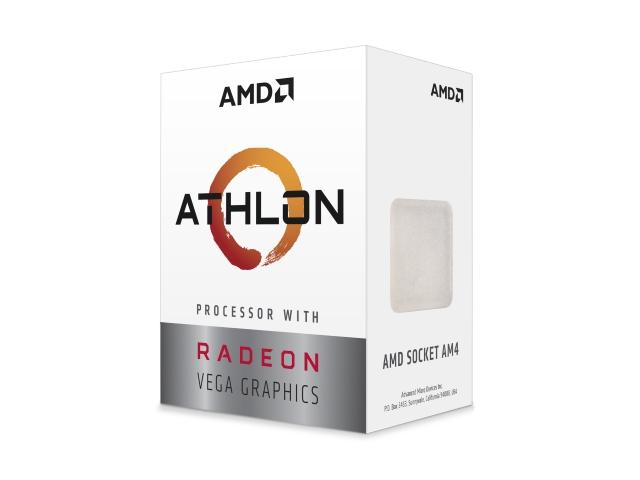 AMD Athlon 200GE Processor with Radeon Vega 3 Graphics BOX