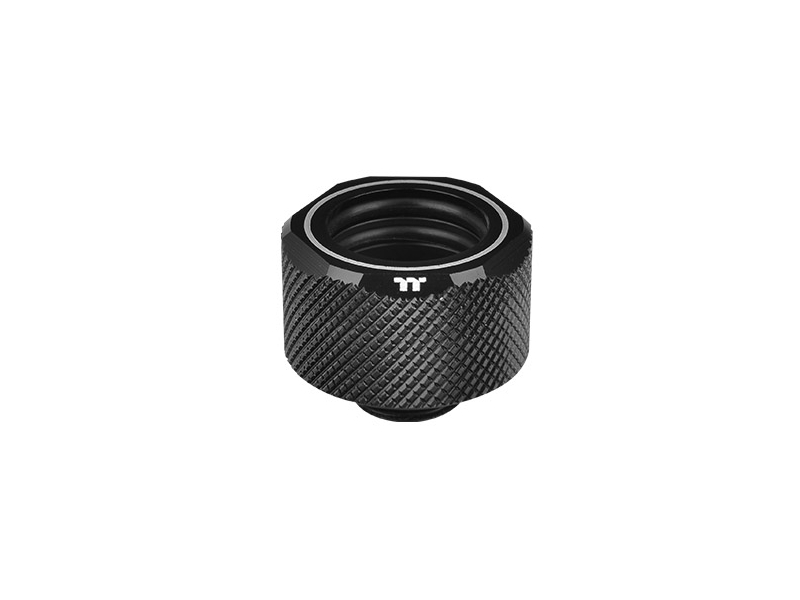 Pacific C-Pro G1/4 PETG 16mm OD Compression - Black -