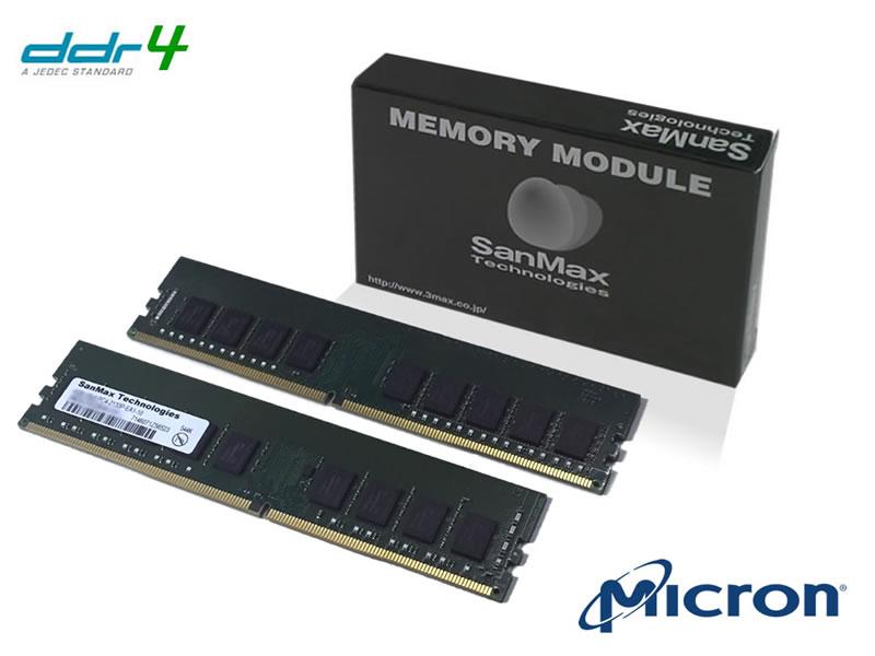 SMD4-E16G48M-26V-D DDR4-2666 U-DIMM ECC 8GBx2SET