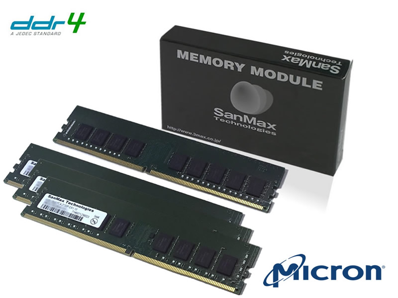 SMD4-E32G48M-26V-Q DDR4-2666 U-DIMM ECC 8GBx4SET