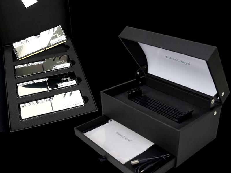F4-3200C14Q-32GTRSU 「Trident Display Box SET」
