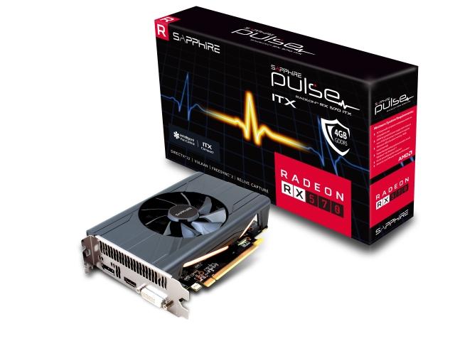 PULSE RADEON RX 570 ITX 4G GDDR5 HDMI/DVI-D/DP (UEFI) BOX (11266-34-20G/VD6548)