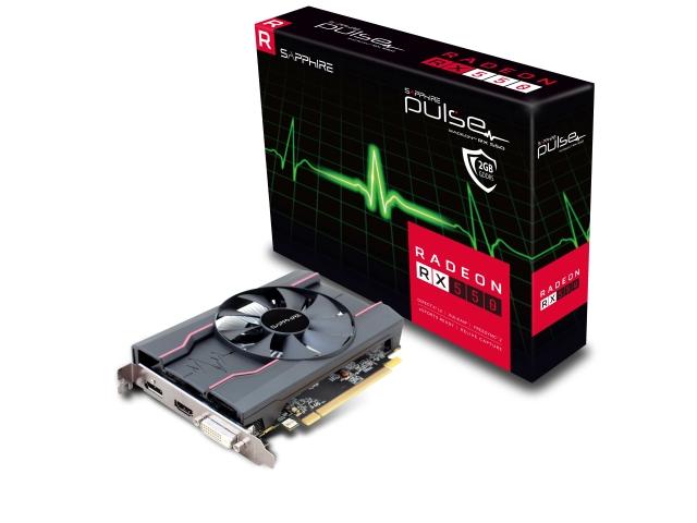 PULSE RADEON RX 550 2G GDDR5 HDMI/DVI-D/DP (UEFI) BOX (11268-16-20G/VD6535)