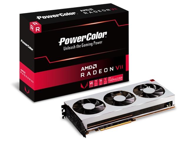 Radeon VII 16GB HBM2 (AXVII 16GBHBM2-3DH)