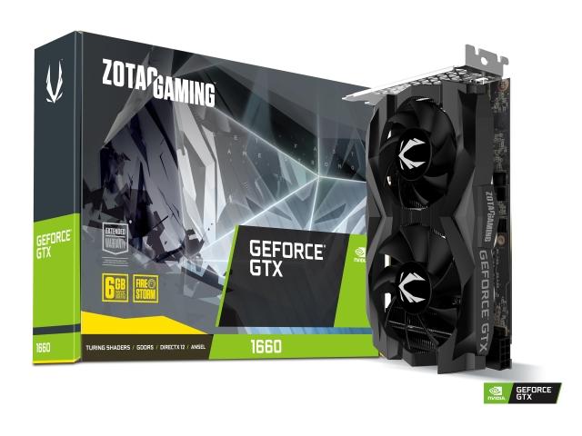 ZOTAC GAMING GeForce 1660 6GB GDDR5