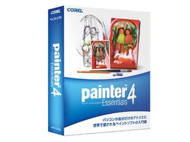 Corel Painter Essentials 4 特別優待版 01 ソフト PCソフト その他