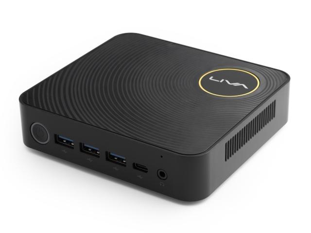 LIVA Z N4200 (Windows10 Homeプリインストール、メインメモリ8GB+eMMC 32GB搭載、M.2 SATA 120GB SSD増設済みモデル)