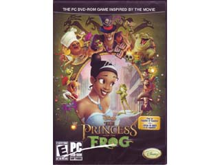 Disney The Princess and the Frog 01 ゲーム ソフト PCゲーム | ゲームソフト アドベンチャー