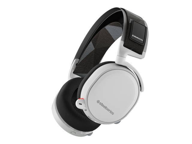 SteelSeries Arctis 7 White 61464 01 ゲーム ゲームデバイス ヘッドセット