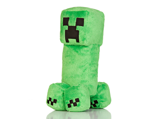"Minecraft 10.5 Creeper Plush W Hang Tag"" 01 ゲーム その他・趣味 ゲーム関連グッズ ACCESSORIES"