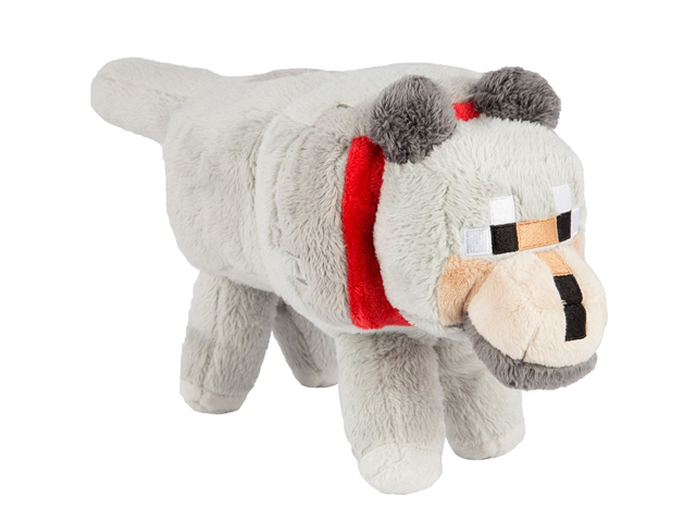 "Minecraft 15 Wolf Plush With Hang Tag"" 01 ゲーム その他・趣味 ゲーム関連グッズ ACCESSORIES"